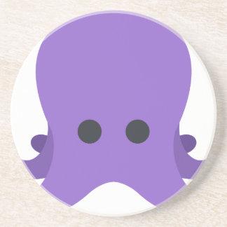 Octopuss Emoji Sandstein Untersetzer
