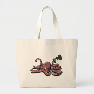 octopuss-sprühdose jumbo stoffbeutel
