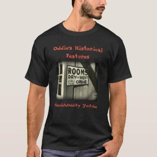 Oddies historische Eigenschaften - 'Oddies Räume T-Shirt