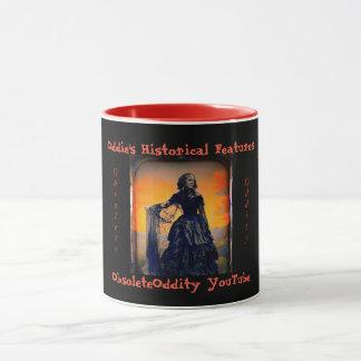 Oddies historische Eigenschaften - schwarze Tasse
