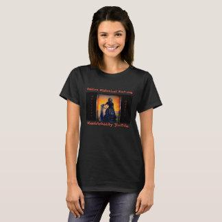 Oddies historische Eigenschaften - schwarze Witwe T-Shirt