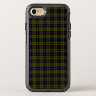 Odee Armeegrün mit lila und schwarzem Streifen OtterBox Symmetry iPhone 8/7 Hülle