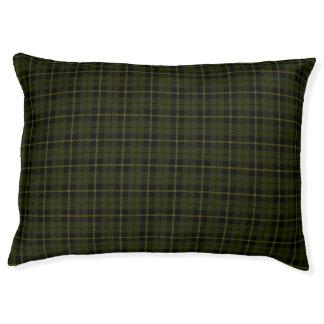 Odee grünen, Gold/Gelb/schwarzer Streifen kleines Haustierbett
