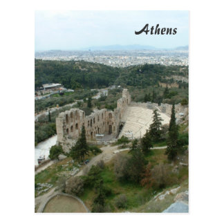 Odeon von Herodes Postkarte