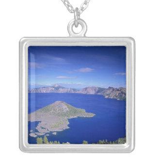 ODER, Crater See NP, Zauberer-Insel und Krater Versilberte Kette