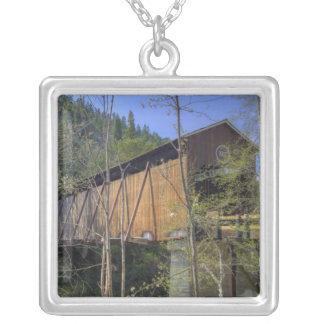 ODER, Jackson County, McKee überdachte Brücke 2 Versilberte Kette