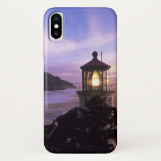 ODER, Oregon-Küste, Heceta Hauptleuchtturm, an iPhone X Hülle