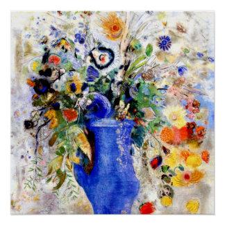 Odilon Redon - großer Blumenstrauß Poster