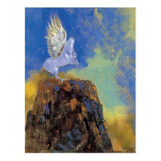 Odilon Redon Pegasus - griechische Postkarte