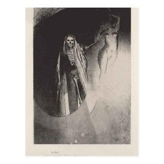 Odilon Redon- Tod Postkarte