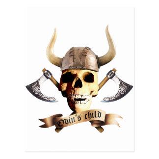 Odin Axe Postkarte