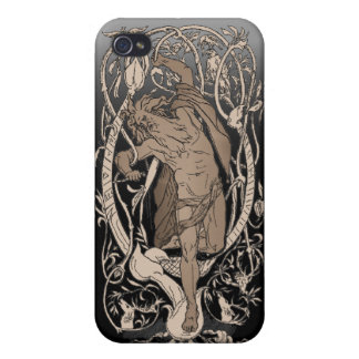 Odin Baum-Speck-Kasten iPhone 4 Cover