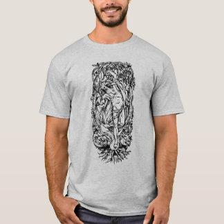 Odin nach Yggdrasil T-Shirt