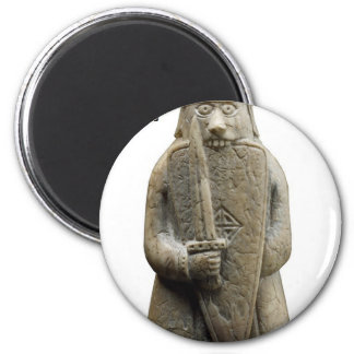 Odins Gebet (Viking Berserker) Runder Magnet 5,1 Cm