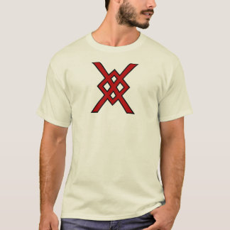 Odins Stange (Rot u. Schwarzes) T-Shirt