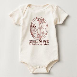 Ödipus u. die Sphinx Baby Strampler