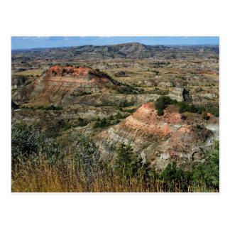 Ödland-Nationalpark North Dakota Postkarte