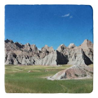 Ödland-Nationalpark South Dakota Töpfeuntersetzer