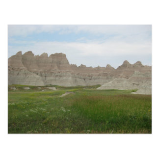 Ödländer in South Dakota Postkarte