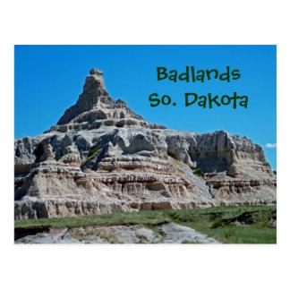 Ödländer Nationalpark, South Dakota Postkarte