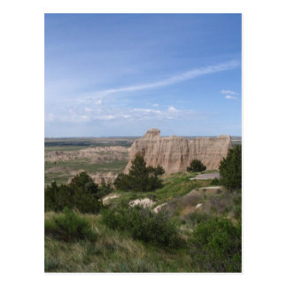 Ödländer South Dakota Postkarte