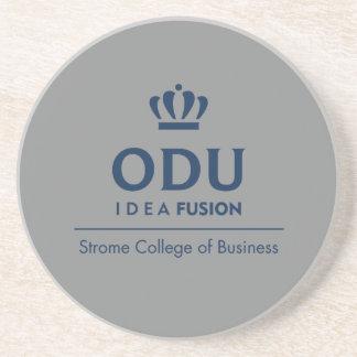 ODU Staplungslogo - Blau Sandstein Untersetzer