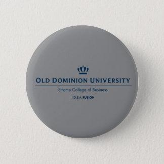ODU Strome Uni des Geschäfts - Blau Runder Button 5,1 Cm