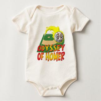 Odyssee von Homer Baby Strampler