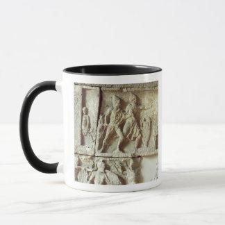Odysseus, der die Bewerber seiner Ehefrau entdeckt Tasse
