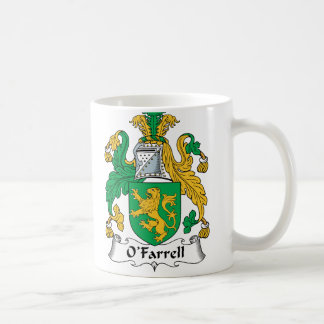 O'Farrell Familienwappen Kaffeetasse