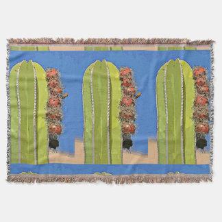 Ofen-Rohr-Kaktus in der Cartoonthrow-Decke Decke