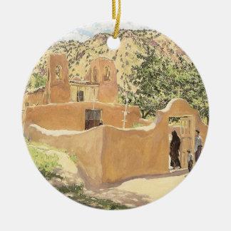 Oferta Para San Esquipula durch Walter Ufer Keramik Ornament