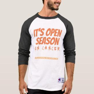 Offene Saison auf Krebs T-Shirt