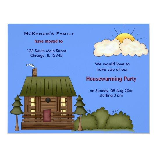 Offenes Haus 10,8 X 14 Cm Einladungskarte