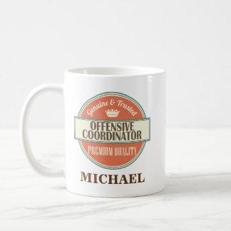 Offensiver Koordinator-personalisiertes Kaffeetasse