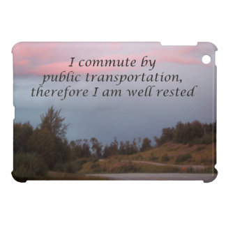 öffentlicher Transport iPad Mini Hülle