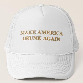 Offiziell lassen Sie Amerika betrunken wieder - Truckerkappe