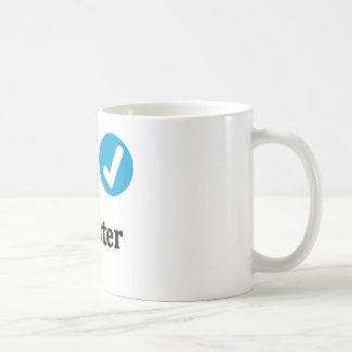offizielle beste Schwester-Tasse Kaffeetasse