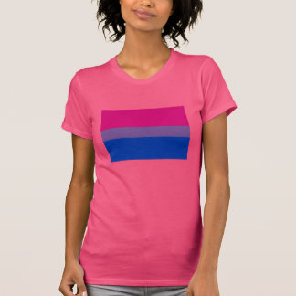 OFFIZIELLE BISEXUAL-STOLZ-FLAGGE T-Shirt