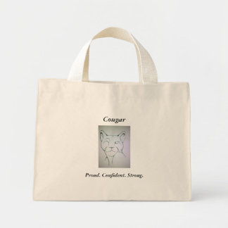 Offizielle Cougarinternational-Tasche Mini Stoffbeutel