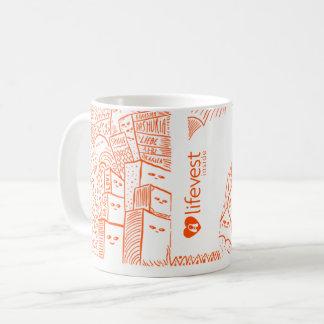 Offizielle Güte-Kaffee-Tasse Kaffeetasse