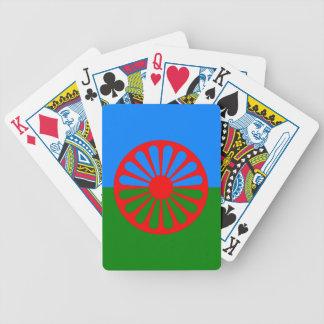 Offizielle Romany-Sinti und Romaflagge Pokerkarten