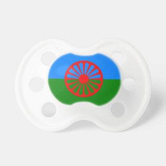 Offizielle Romany-Sinti und Romaflagge Baby Schnuller