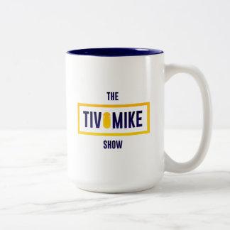 Offizielle Show-Tasse - Blau Zweifarbige Tasse