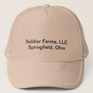 Offizielle Soldat-Bauernhöfe, LLC-Kappe Truckerkappe