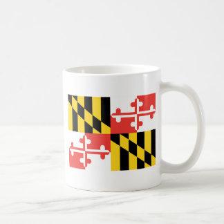 Offizielle Staats-Flagge Marylands Kaffeetasse
