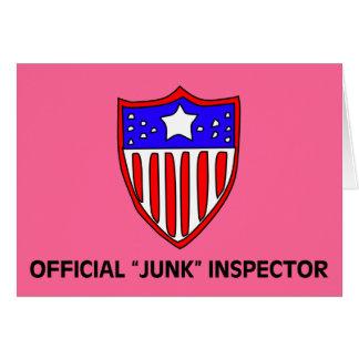 Offizielle TSA Kram-Inspektor-Dunkelheit Karte