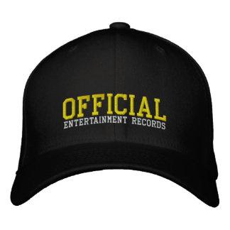 Offizielle Unterhaltungs-angepasste Kappe