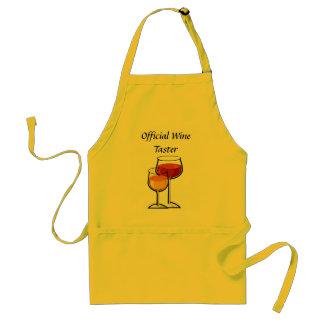 Offizielle Wein-Schmecker-Schürze
