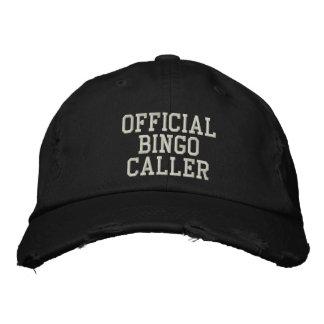 Offizieller BINGO Anrufer gestickter Hut